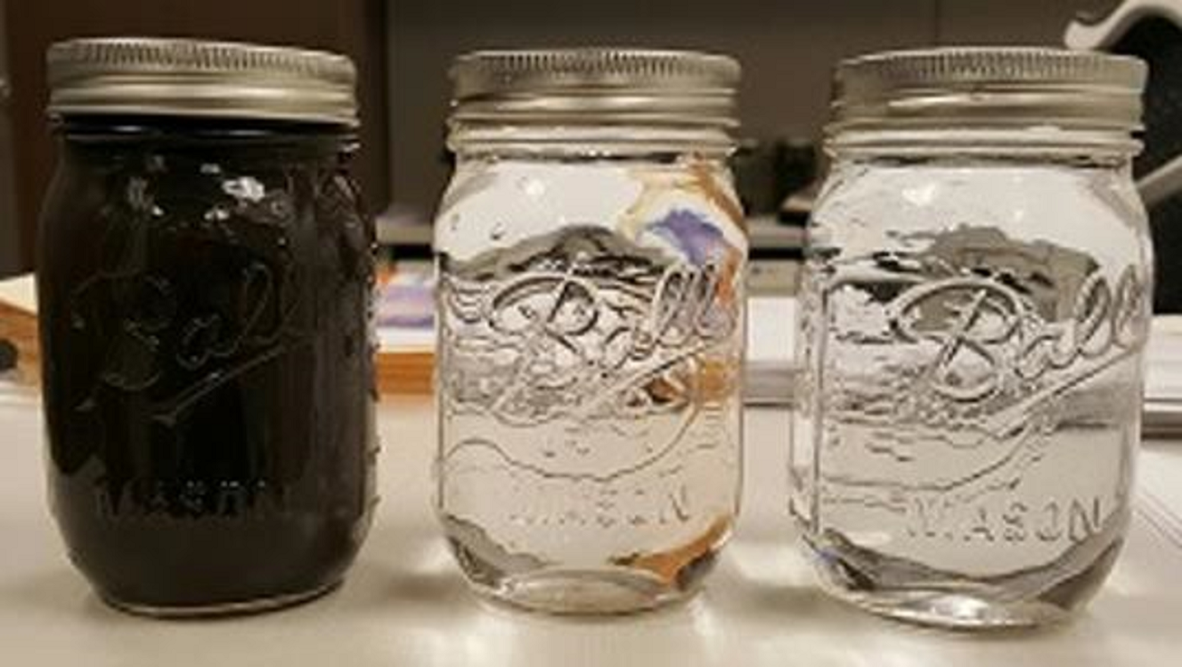 Cleaning Water Jars